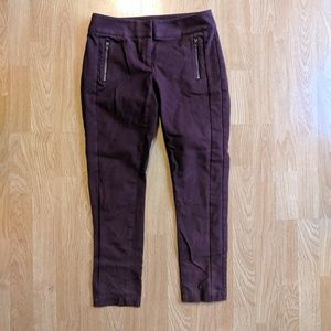 Loft Skinny Zip Pocket pants
